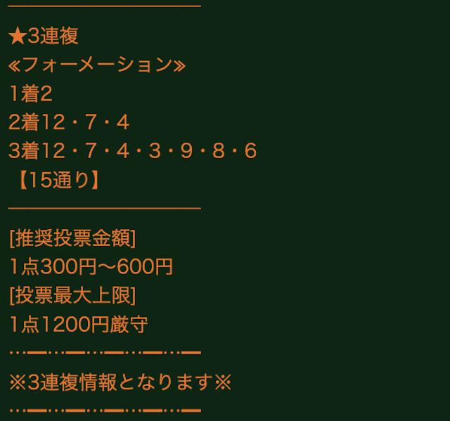 ギャロップジャパンの有料予想0307_4