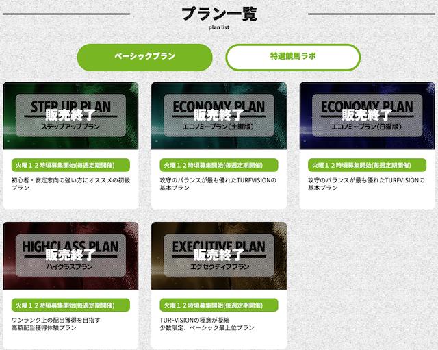 ターフビジョンの販売プラン詳細画像