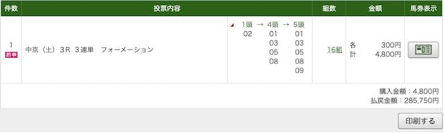 2020年9月12日 的中乱舞 中京3RPAT