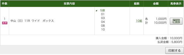 うまライブ 3月8日無料予想PAT画像