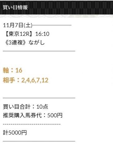 にのまえ無料情報11月7日
