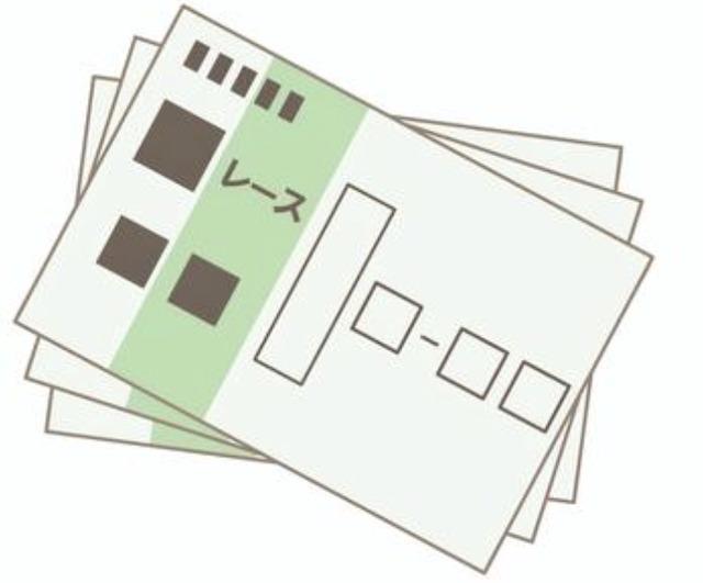 ワイド コラム 馬券画像